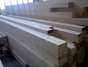 Glued beams KVH Spruce 100 mm x 230 mm x 13.5 m