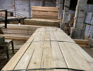 63 mm x 150 mm x 6000 mm KD R/S Heat Treated European spruce Lumber