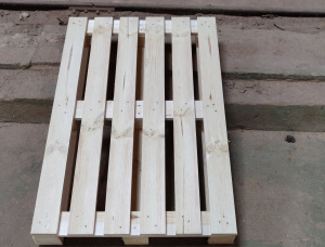 Holzpalette Waldkiefer 1200 mm x 800 mm x 144 mm