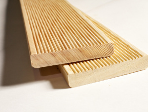 Siberian Larch Terrace board 28 mm x 142 mm x 6000 mm