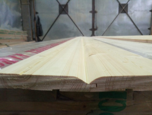 KD European spruce Wooden Cladding 20 mm x 140 mm x 6000 mm