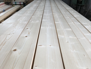 European spruce Solid Wood Decking 27 mm x 140 mm x 6000 mm