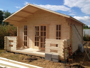 Dry Timber Prefab Garden Cabins (Design)