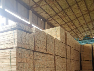 16 mm x 88 mm x 2985 mm KD R/S Heat Treated Swiss pine Lumber