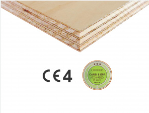 S1S Elliotis Pine Interior Plywood 2500 mm x 1250 mm x 18 mm