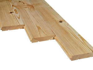 Scots Pine Solid Wood Decking 28 mm x 120 mm x 3000 mm
