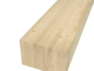 BSH timber beams, CE, PEFC 240 mm x 280 mm x 13 m