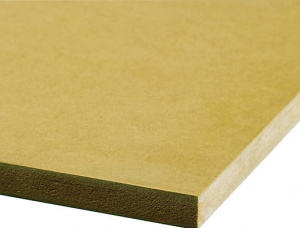 Medium density fibreboard (MDF) 18 mm x 1220 mm x 2440 mm