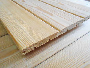 KD Siberian Pine Tongue & Groove Paneling 15 mm x 140 mm x 6000 mm