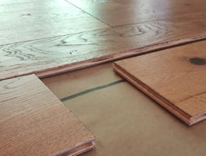 16 mm x 290 mm x 4900 mm Oak Laminated flooring