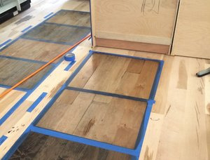 19 mm x 330 mm x 5800 mm Oak Laminated flooring