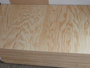 Radiata Pine Plywood 2 mm x 50 mm x 1220 mm