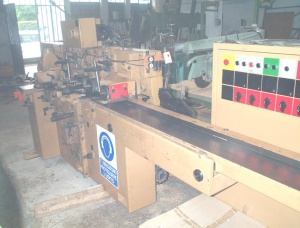 5-spindle four side moulder planer SCM