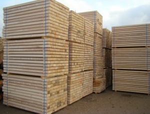 100 mm x 300 mm x 4000 mm KD S1S2E Heat Treated Spruce-Pine-Fir (SPF) Lumber