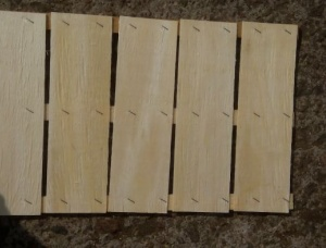 Birch Packaging timber 12 mm x 40 mm x 2500 mm