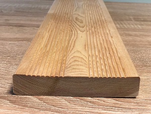 Cladding, decking KD Larch 27 mm x 32 mm x 6 m