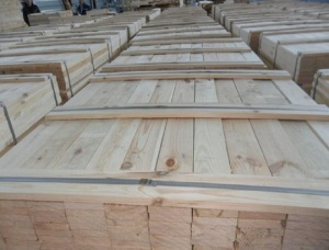 Oak Pallet Elements KD 13 mm x 70 mm x 4000 mm