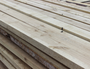 22 mm x 90 mm x 3000 mm KD R/S Heat Treated Birch Lumber