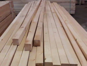 35 mm x 55 mm x 2000 mm KD  Scots Pine Post