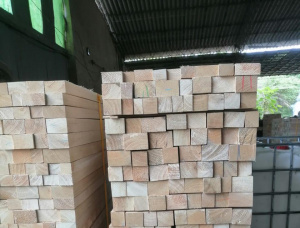 50 mm x 150 mm x 1250 mm KD S4S Heat Treated Balsa tree Lumber