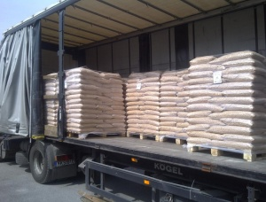 Wood Pellets SPF 6 mm x 30 mm