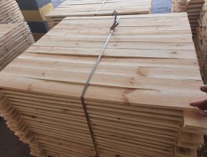 23 mm x 96 mm x 4000 mm KD R/S Heat Treated Siberian Pine Lumber