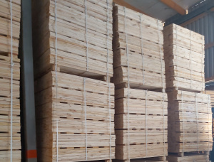 Spruce-Pine (S-P) Pallet timber 17 mm x 98 mm x 1.1 m