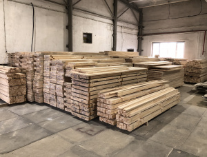 Scots Pine Finger Jointed (Discontinuous stave) Furniture panel 0.04 mm x 600 mm x 3000 mm