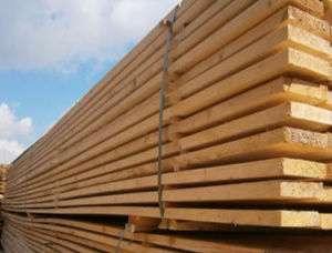 45 mm x 160 mm x 6000 mm KD S4S Heat Treated Scots Pine Lumber
