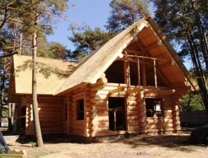 Rounded log house 180 мм