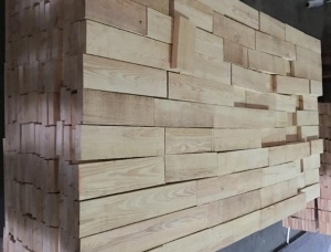 Larch Lamella KD 18 mm x 88 mm x 4800 mm