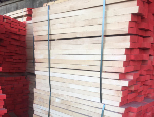 50 mm x 100 mm x 1000 mm KD R/S Heat Treated Beech Lumber