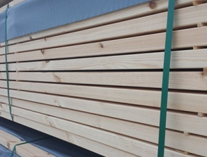 CLS S4S Planed Spruce 38 mm x 38 mm x 3.6 m