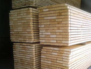 25 mm x 125 mm x 4000 mm KD S4S Heat Treated Scots Pine Lumber