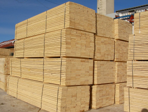 22 mm x 150 mm x 400 mm KD S2S Heat Treated Scots Pine Lumber