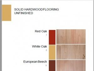 Solid Hardwood Flooring KD 19 mm x 127 mm x 2450 mm