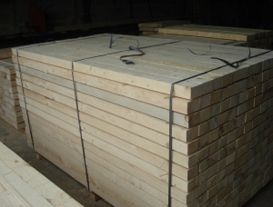 25 mm x 150 mm x 6000 mm KD R/S Heat Treated European spruce Lumber