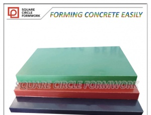 PP plastic film faced plywood for construction
