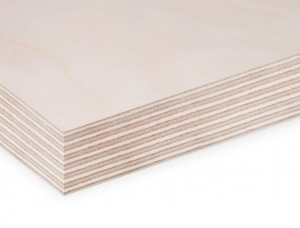 Sanded Birch Exterior Plywood 2440 mm x 1220 mm x 18 mm