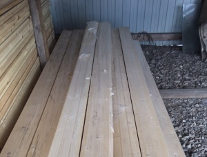 Scots Pine Solid Wood Decking 28 mm x 146 mm x 3000 mm
