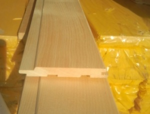 KD Western redcedar Tongue & Groove Paneling 14 mm x 100 mm x 2500 mm