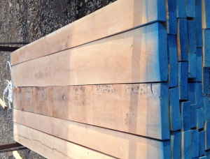 50 mm x 100 mm x 2600 mm KD S2S Heat Treated Beech Lumber