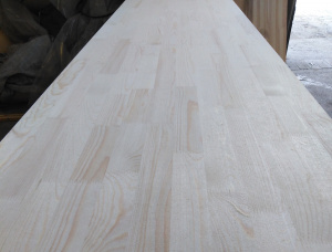 Scots Pine 1 Ply Solid Wood Panel 40 mm x 600 mm x 3000 mm
