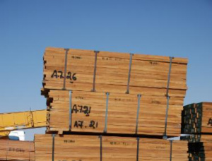 15 mm x 650 mm x 2500 mm AD S4S Heat Treated Teak Lumber