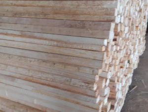 50 mm x 50 mm x 800 mm KD S4S Heat Treated Balsa tree Lumber