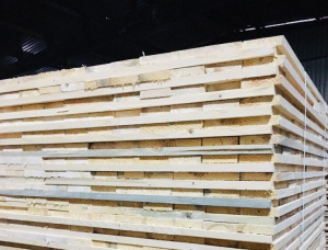 European spruce Pallet timber 22 mm x 100 mm x 1000 mm