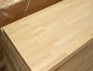 Beech Light Steam Finger Jointed Panel 27 mm x 650 mm x 5000 mm