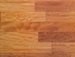 Parkett Moabi (African pearwood 14 mm x 90 mm x 1200 mm