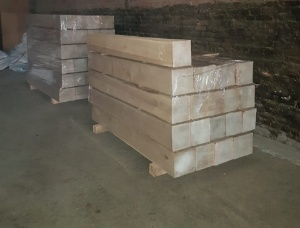 White Oak Beam 23.5 mm x 215 mm x 2000 mm