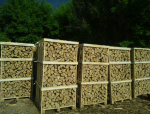 Oak Firewood cleaved 33 mm x 18 mm
